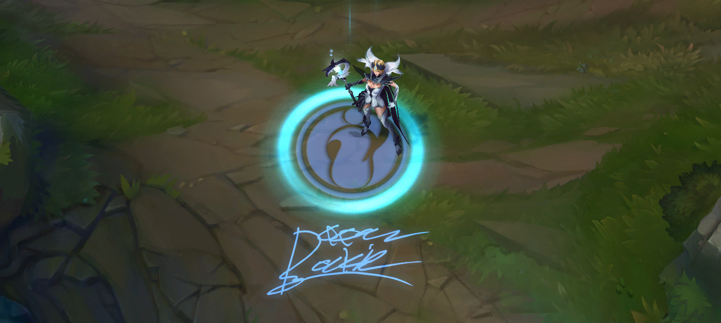 LoL Invictus Gaming LeBlanc Skin PBE
