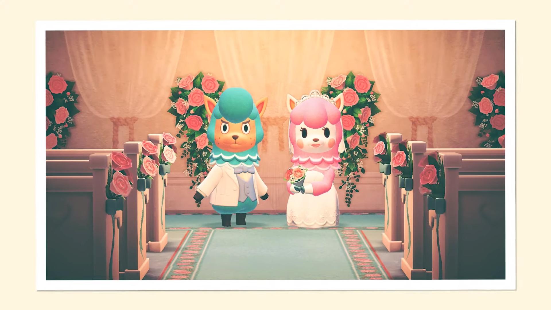 Animal Crossing Comment Se Marier Et Avoir Un B饕