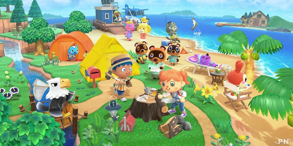 Bande-annonce [MàJ] Animal Crossing : New Horizons célèbre la nouvelle année