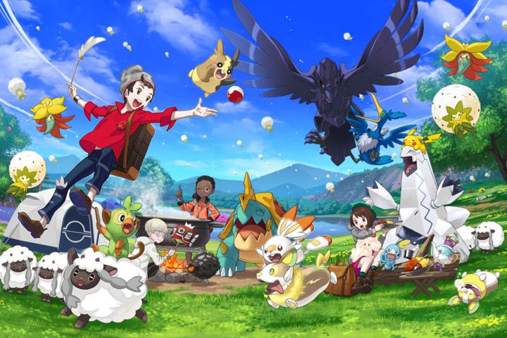 Liste Des Pokemon Dans L Ordre Du Pokedex Regional Pokemon Epee