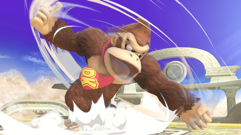 Donkey Kong special haut