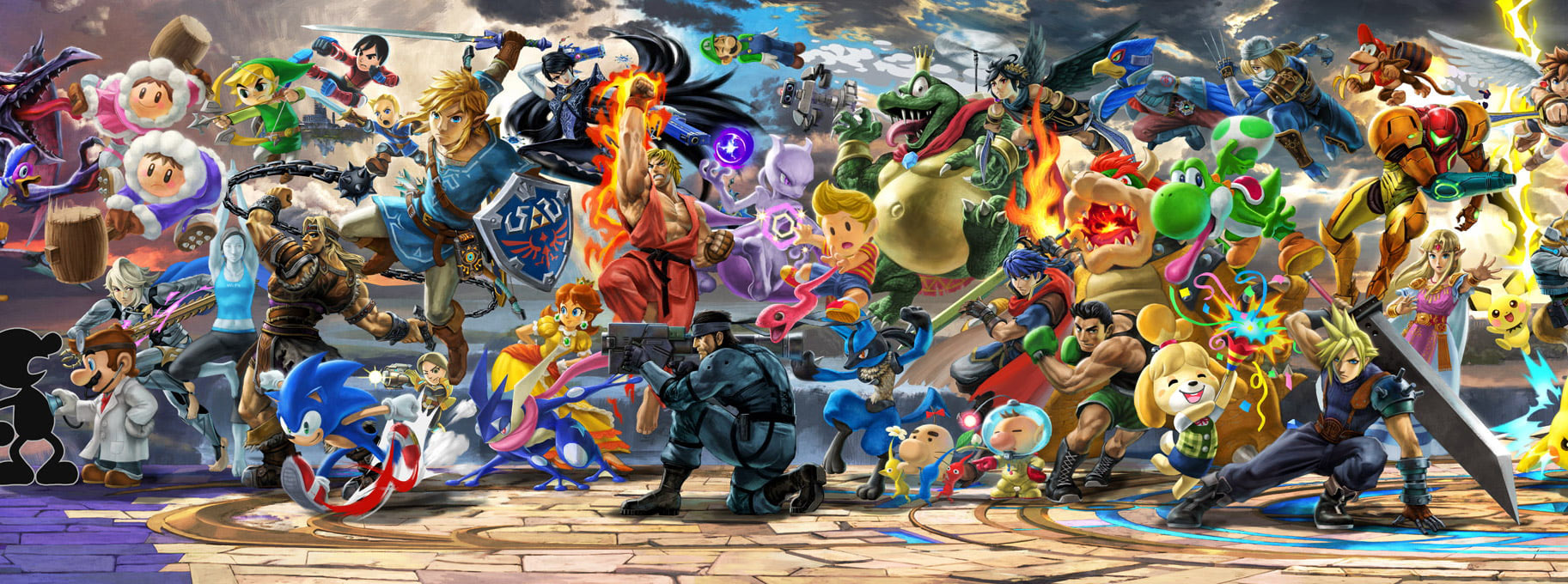 Super Smash Bros Ultimate : Tier list des combattants