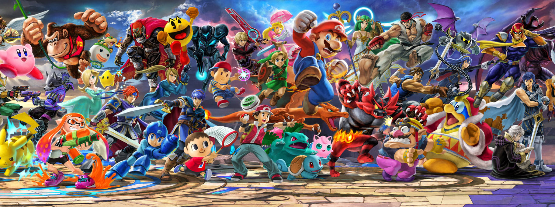 Guides Combattants Super Smash Bros Ultimate