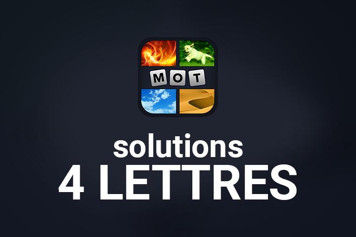 4 Images 1 Mot 4 Lettres Solution Breakflip Actualites Et Guides Sur Les Jeux Video Du Moment